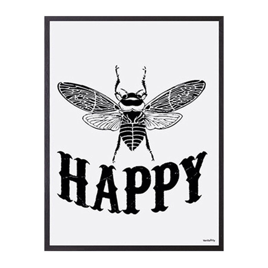 Vanilla Fly: Happy (PS21X1) 20X25 Poster