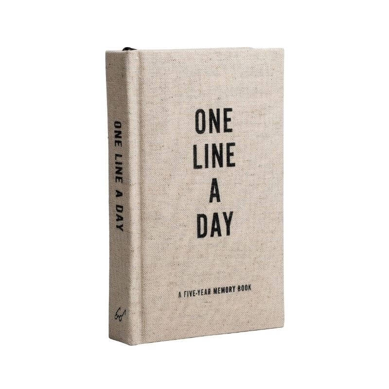 Canvas One Line A Day Book
