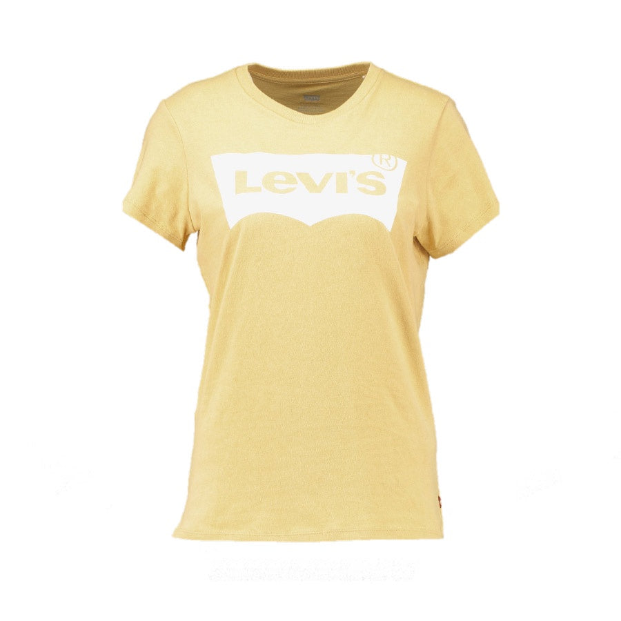 Levi's: The Perfect Tee Large Batwing Ochre