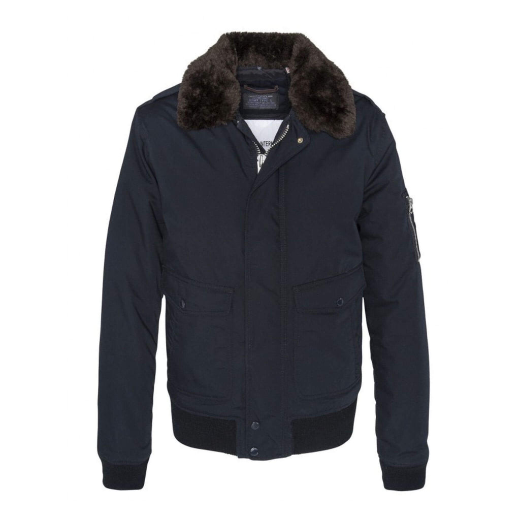 Schott NYC Air Jacket Navy
