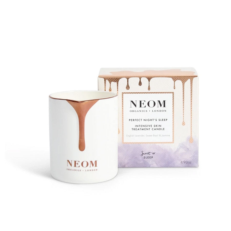 Neom Organic's: Perfect Nights Sleep Intensive Skin Treatment Candle  (Sleep)