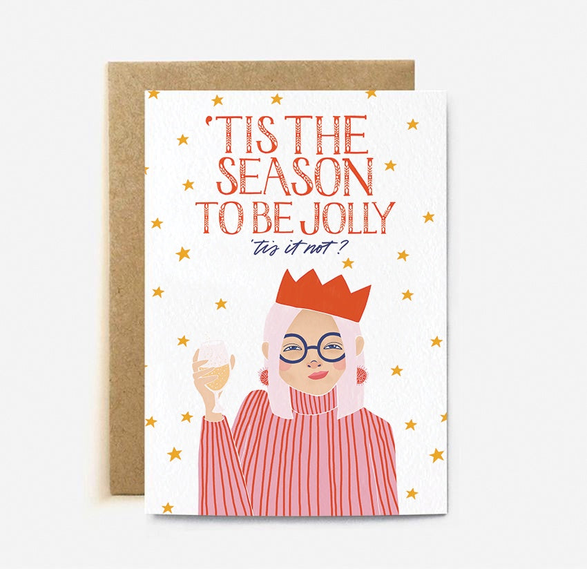 The Cardy Club: Tis The Season To Be Jolly Card