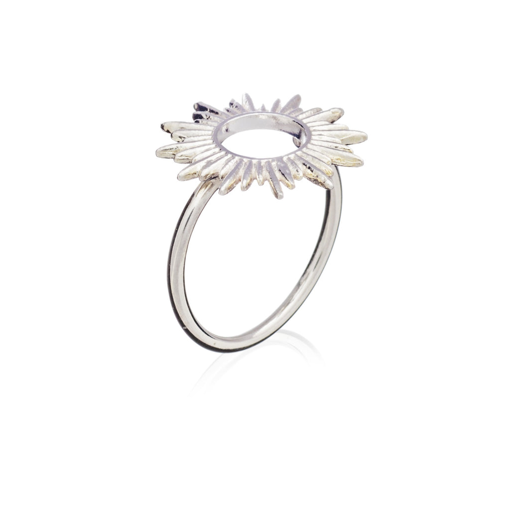 Rachel Jackson: Sunrays Ring Silver