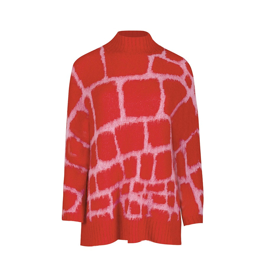 Favour Jumper Red/Pink