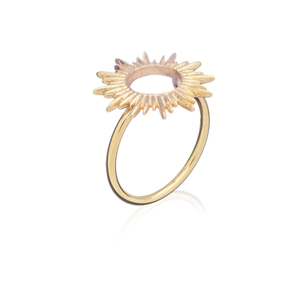 Rachel Jackson: Sunrays Ring Gold