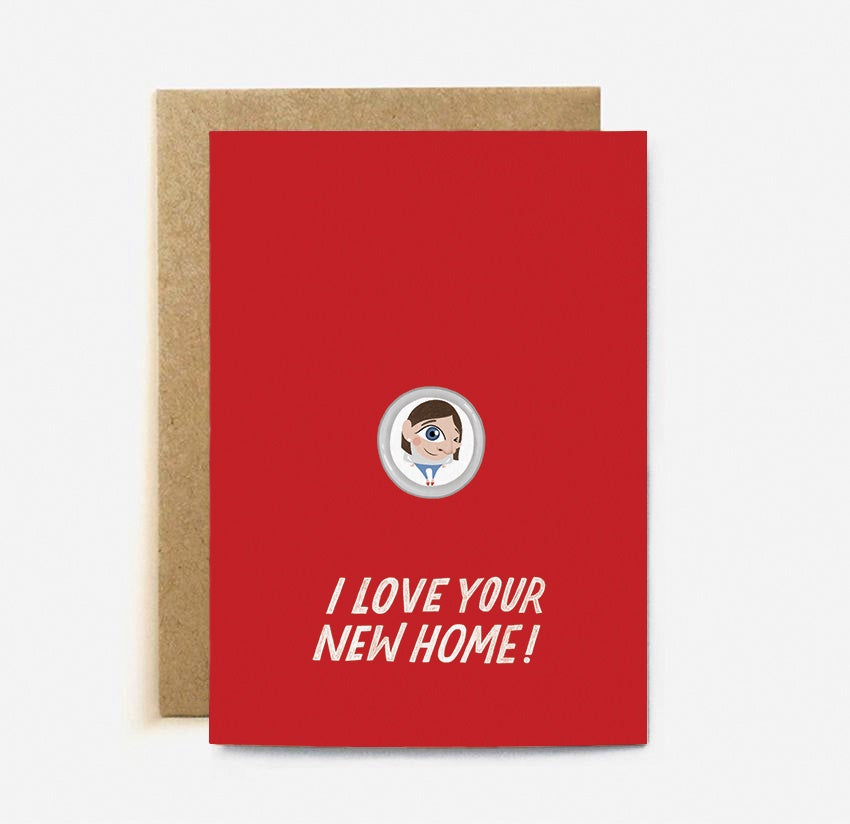 The Cardy Club: I Love Your New Home Card