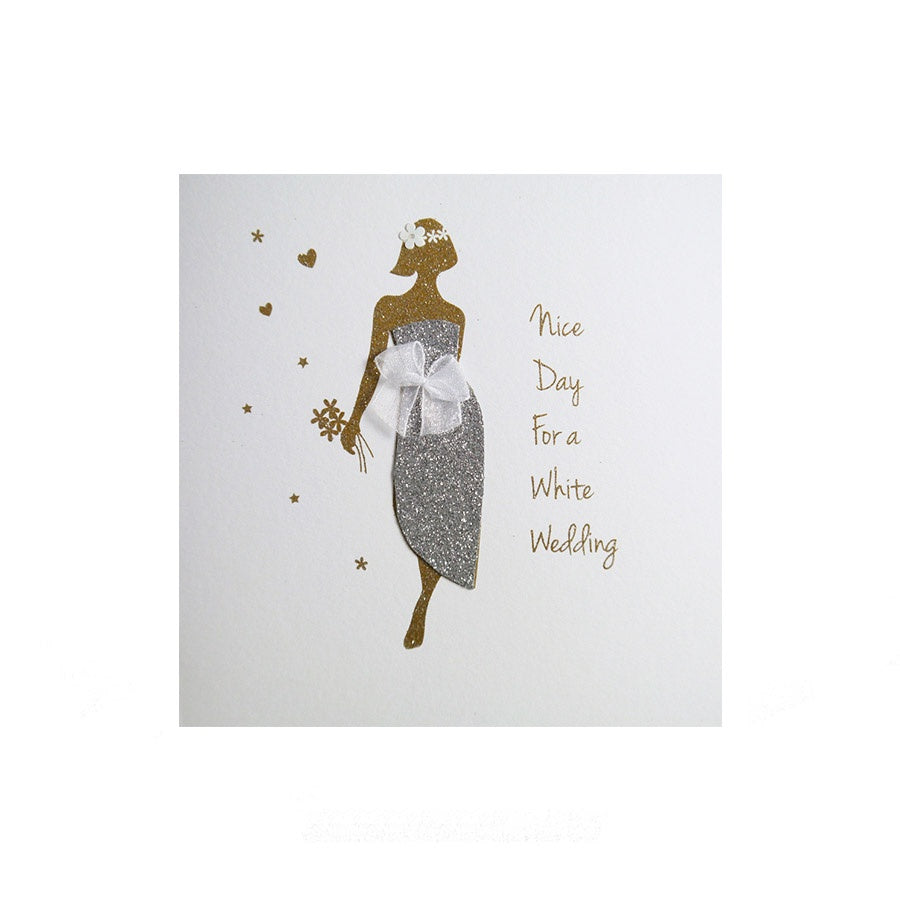 Five Dollar Shake: Nice Day For A White Wedding Card
