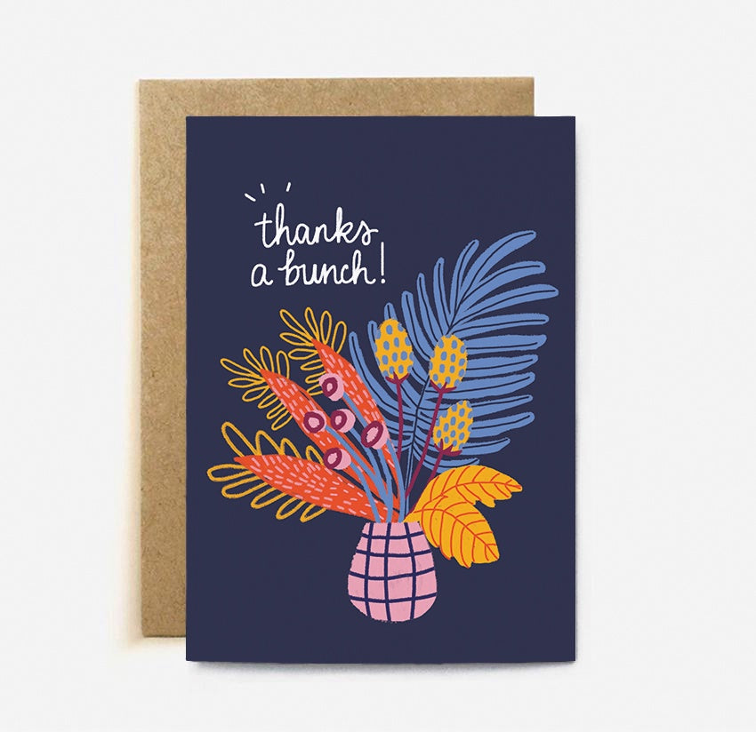 The Cardy Club: Thanks A Bunch Card