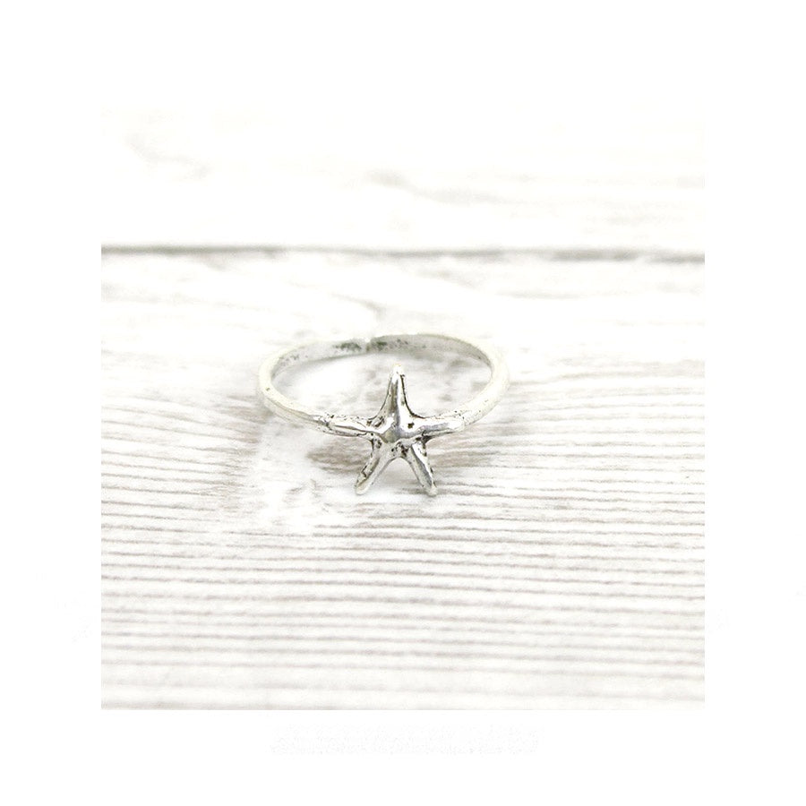 Handmade Star Ring (st 35)