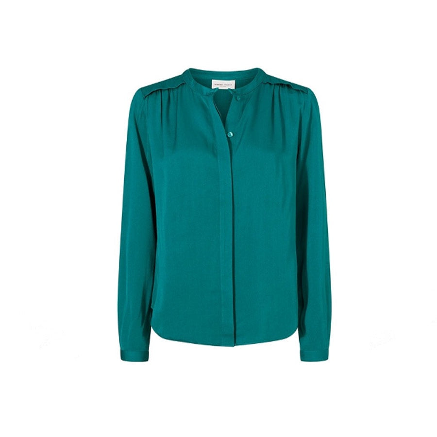 Sunset Blouse The Real Teal