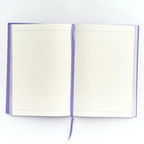 Go Stationery: Colour Block Violet A5 Notebook