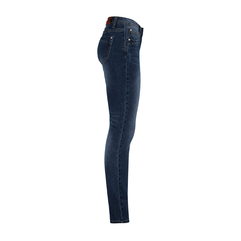 Red Button Jimmy Mid Stone Used Jean