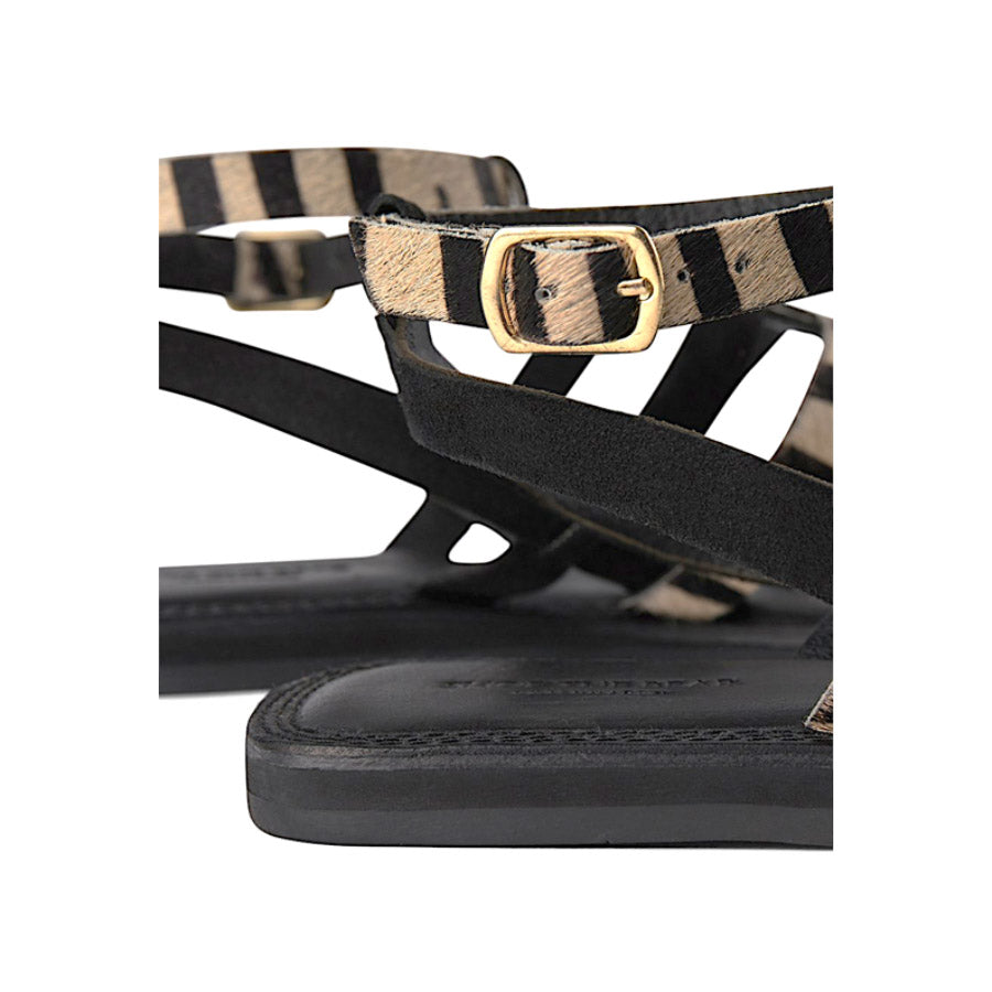 Gladiator Sandal Black