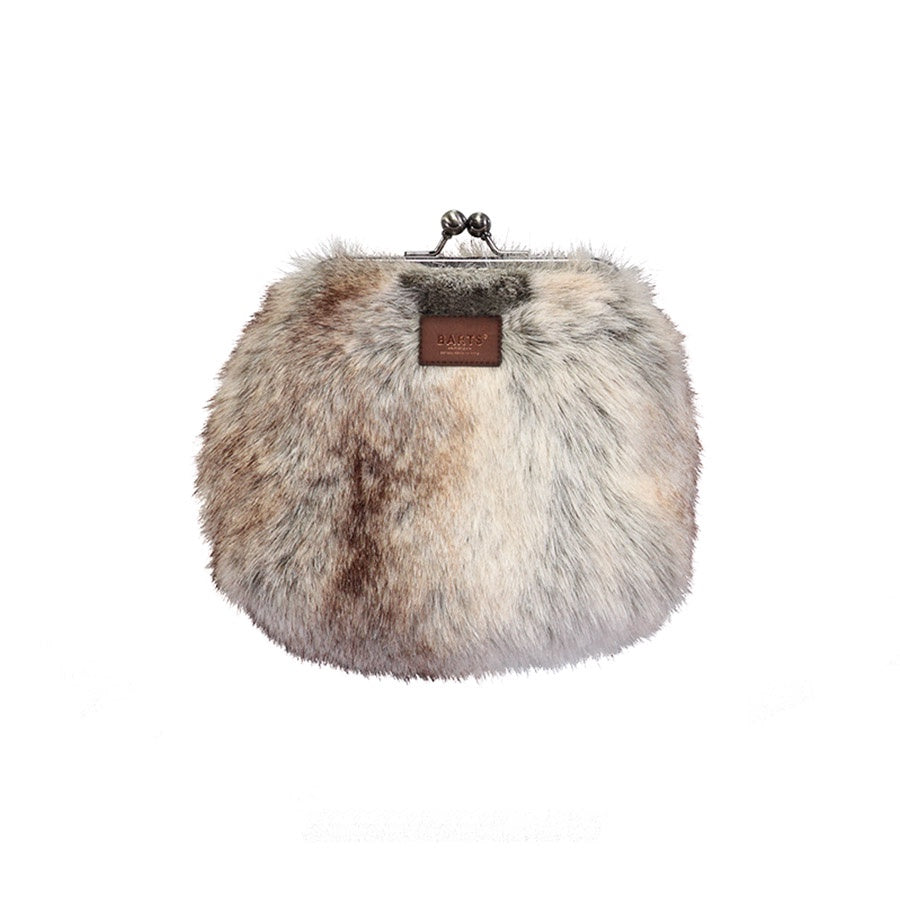 Salween Faux Fur Wallet