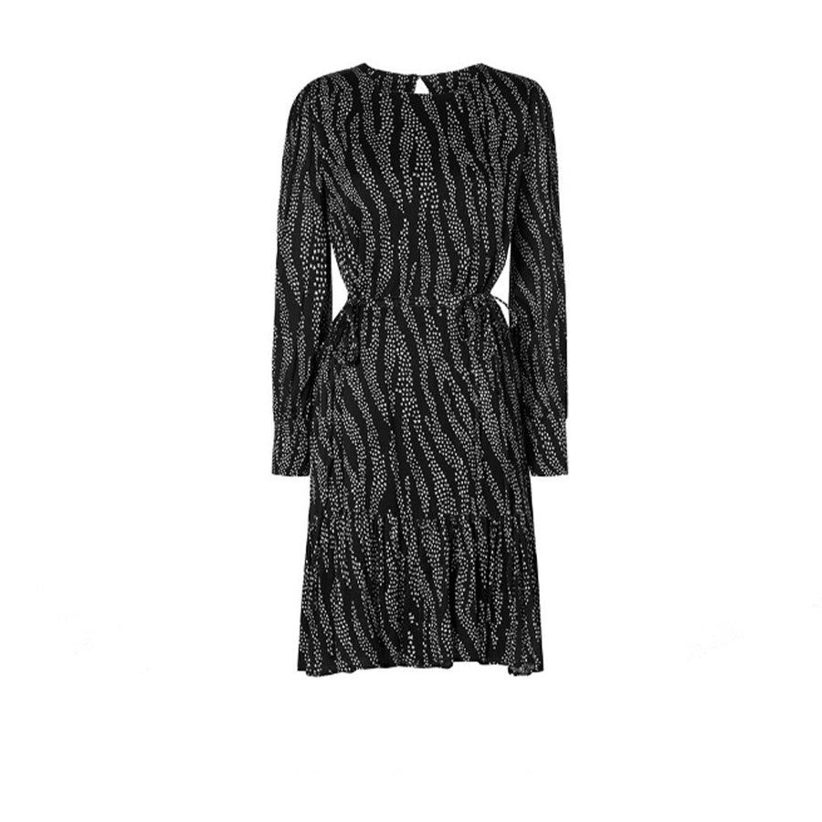Bonnie Bo Stardust Zebra Print Dress