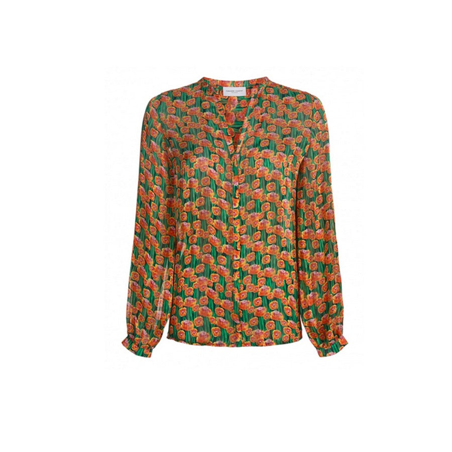 Frida Blouse Dutch Flowers