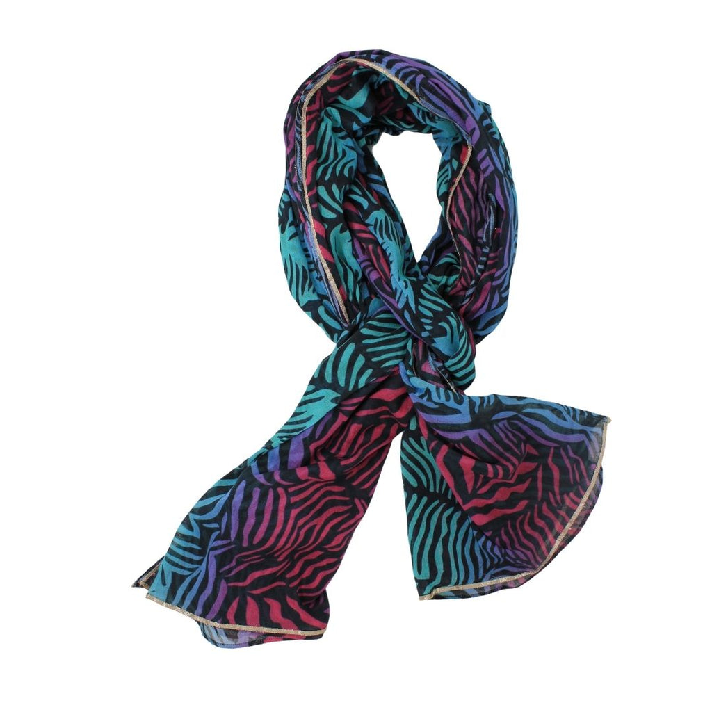 Universe Of Us Dancing Zebra scarf