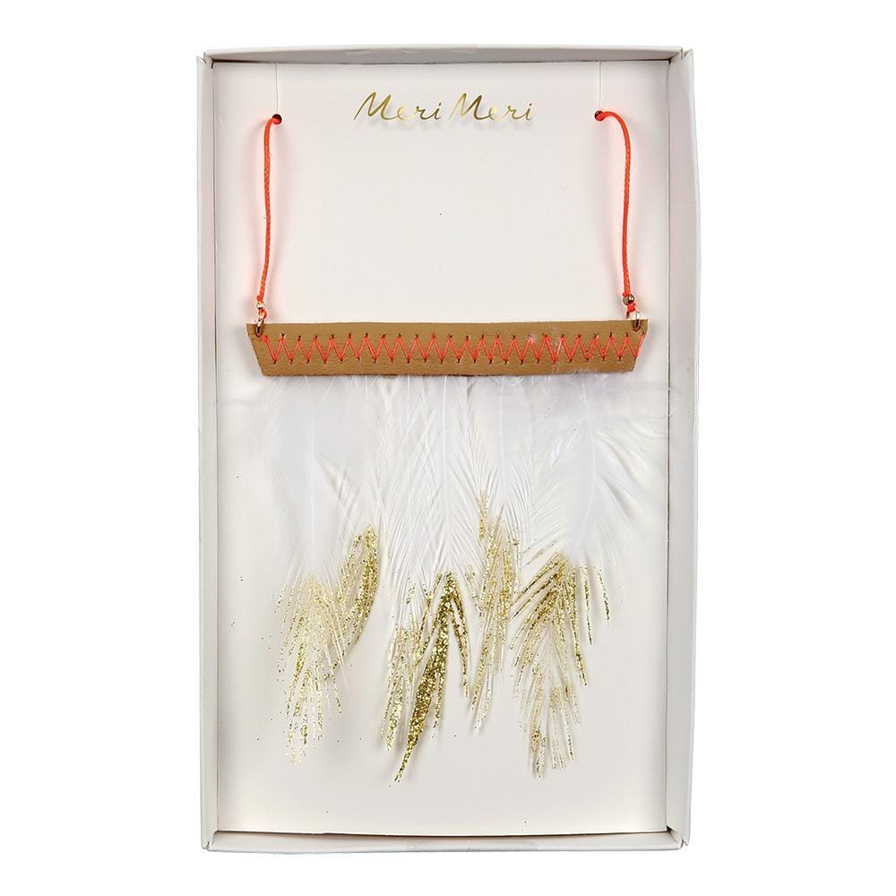 Meri Meri: Feather Necklace