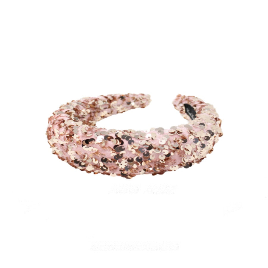 Universe Of Us: Padded  Sequin Pink Headband