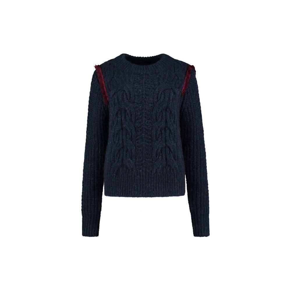 Pom Amsterdam: Gentle Knit Navy