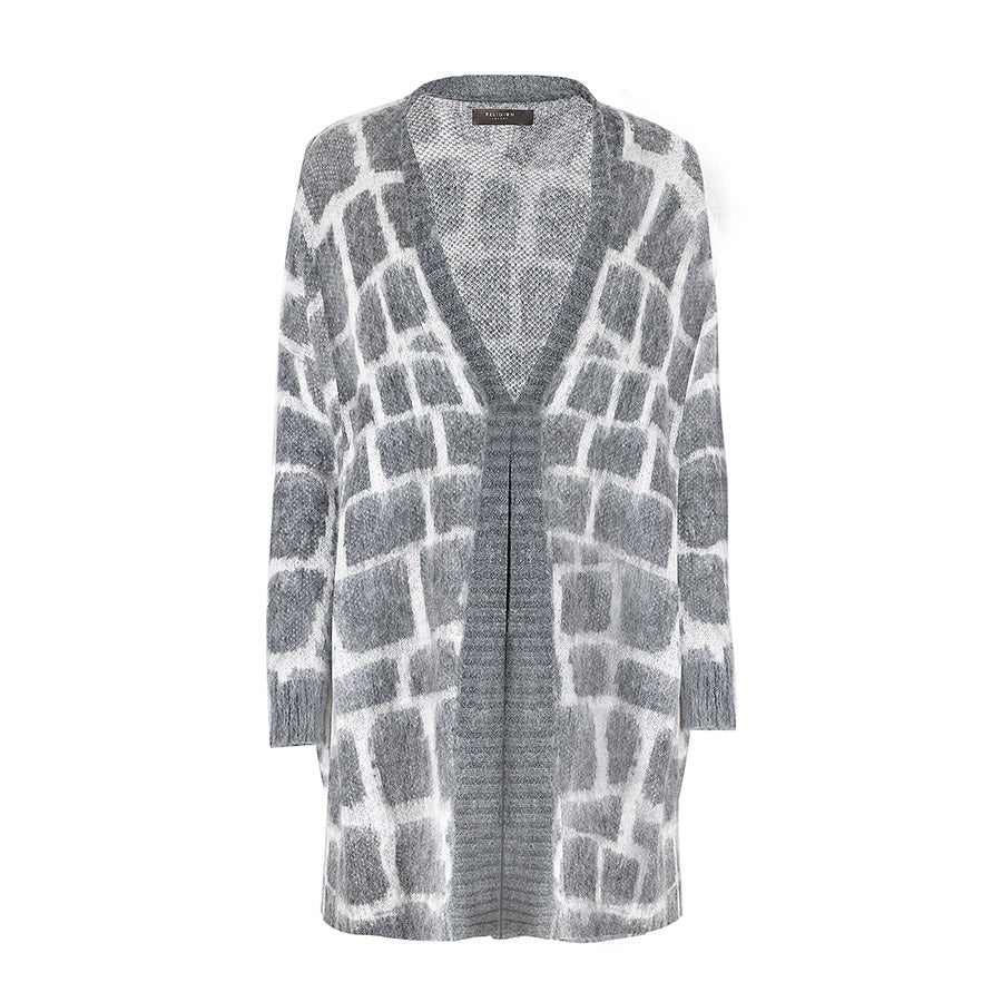 Religion Favour Cardigan Charcoal