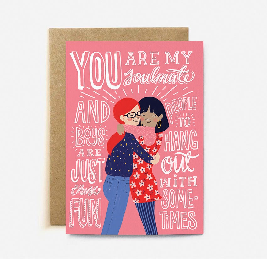 The Cardy Club: You Are My Soulmate Card