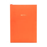 Go Stationery: Colour Block Orange A5 Notebook