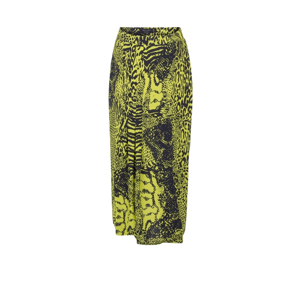 Religion: Sensation Midi Skirt Sensation Lime Green