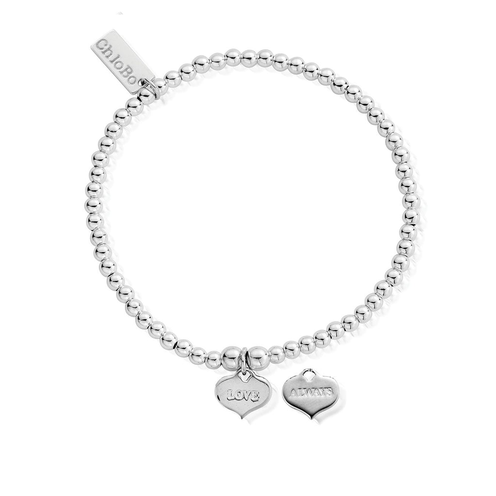 ChloBo Cute Charm Love Always  Bracelet Silver
