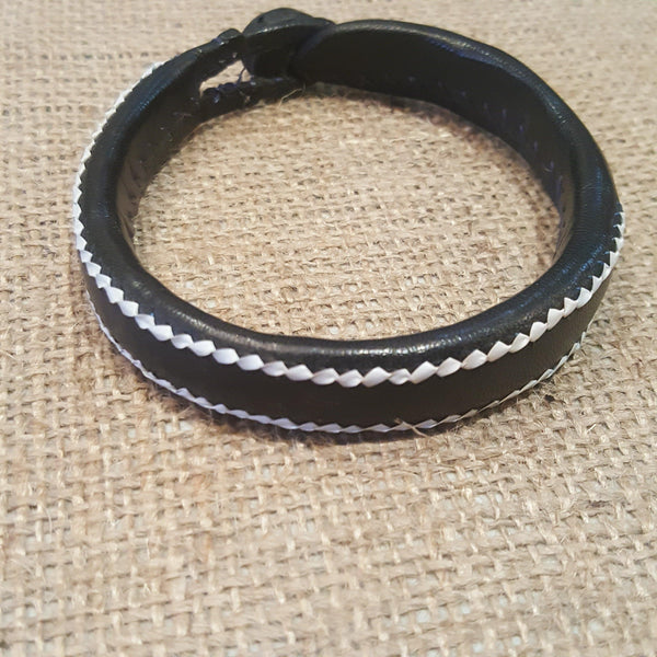 Leather Mens Band