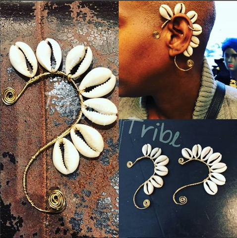 Sea Shell Ear Cuff