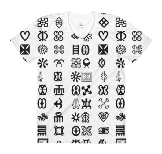 Tafari Tribe Adinkra Shirt