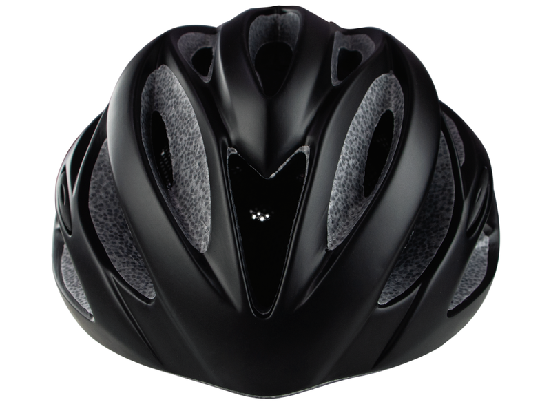 Casco Mountain Bike Optimus Crater Color Negro
