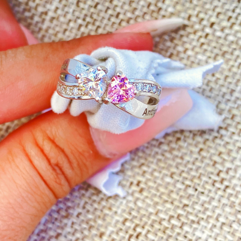 PaulaMax Sterling SIlver Promise Ring