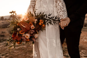 BOHO ENGAGEMENT AT JOSHUA TREE | STEPHANIE + SAL