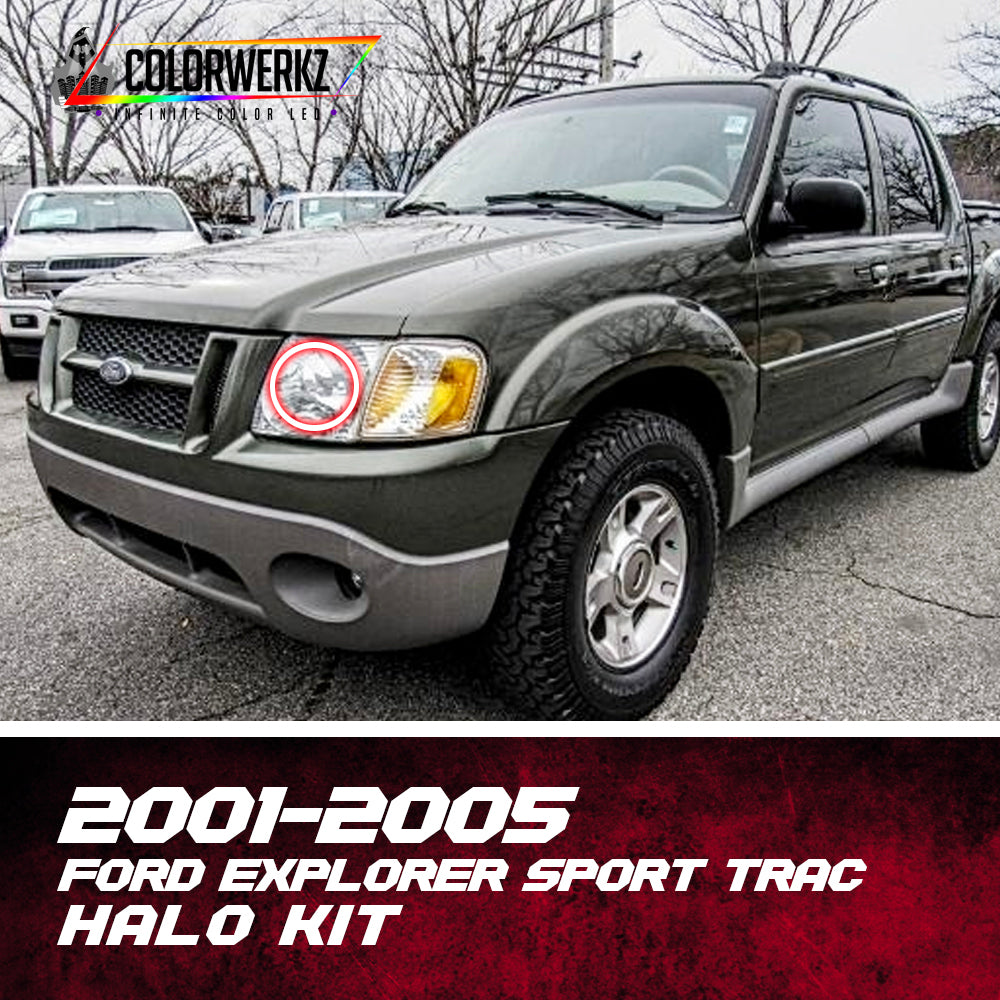 2005 Ford Explorer Sport Trac Interior: 2001-2005 Ford Explorer Sport Trac Halo Kit