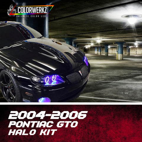 2004-2006 Pontiac GTO Halo Kit