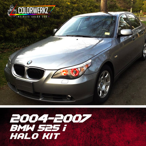 2004-2007 BMW 525i Halo Kit