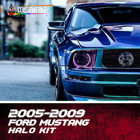 2005-2009 Ford Mustang Halo Kit