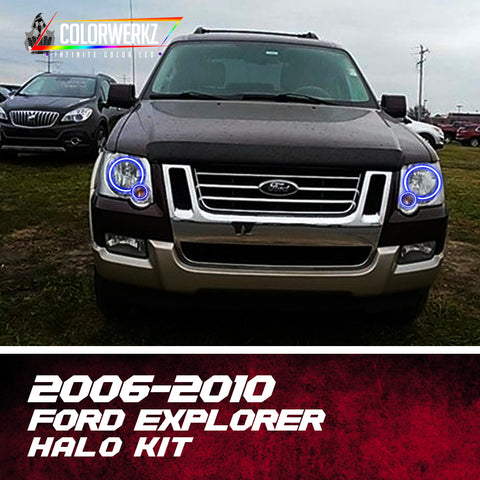 2006-2010 Ford Explorer Halo Kit