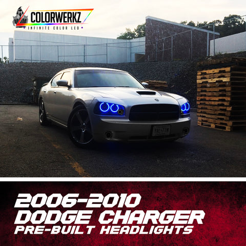 2006-2010 Dodge Charger Pre-Built Headlights