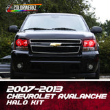 2007-2013 Chevrolet Avalanche Halo Kit