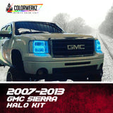 2007-2013 GMC Sierra Halo Kit