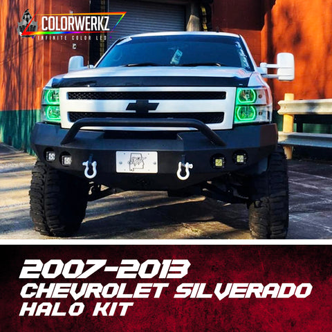 2007-2013 Chevrolet Silverado Flat Bottom Halo Kit