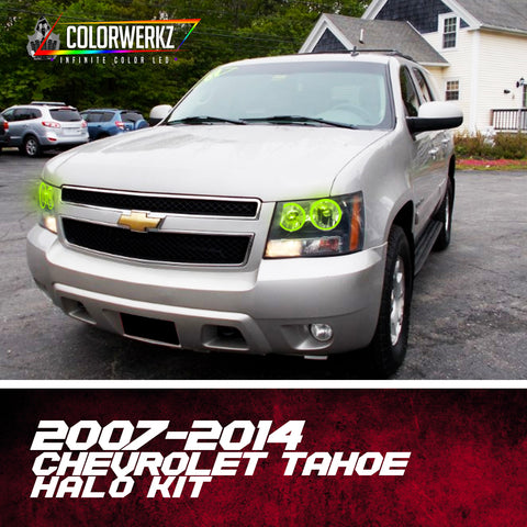 2007-2014 Chevrolet Tahoe Halo Kit