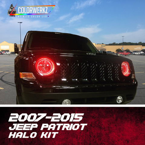 2007-2015 Jeep Patriot Halo Kit