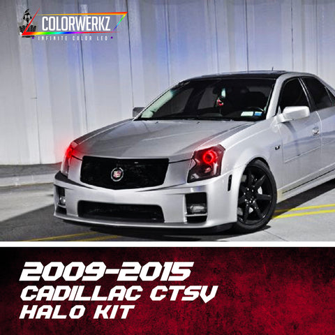 2009-2015 Cadillac CTSV Halo Kit