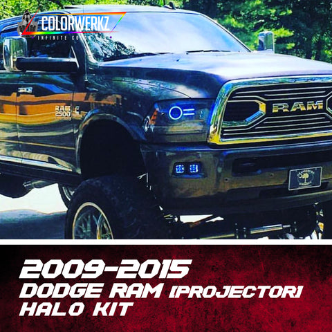 2009-2015 Dodge Ram Projector Halo Kit