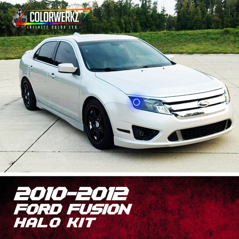 2010-2012 Ford Fusion Halo Kit