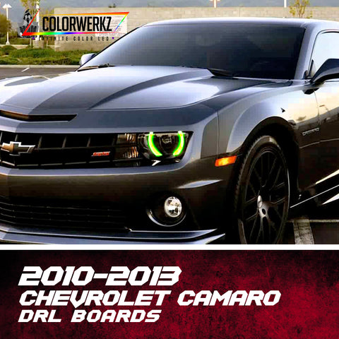 2010-2013 Chevrolet Camaro RGBWA DRL Boards